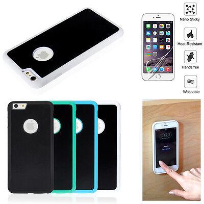 Anti Gravity Nano Suction Tech Magic Selfie Phone Case For Iphone 7 8 6S Plus