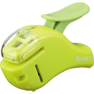 Kokuyo Harinacs Compact Alpha Sln-msh305 Stapleless Stapler - Green