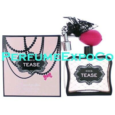 VICTORIAS SECRET NOIR TEASE Perfume for Women 3.4oz Eau De Parfum Spray *SEALED*