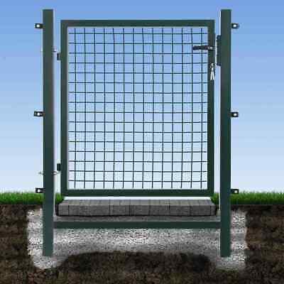 Easygate Wellengitter Garden Gates B1250xH1000 Green Door Fence Fencing