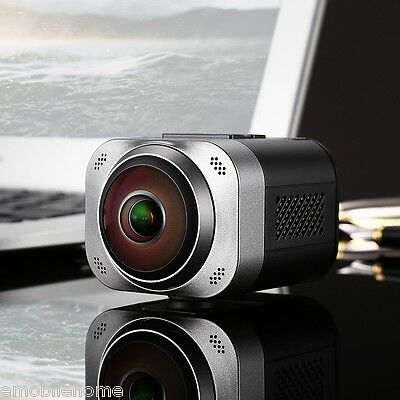 ORDRO D5 360° Panorama 1080P Mini WiFi VR Camera 1000mAh li-ion battery