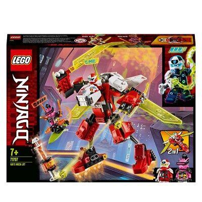 LEGO NINJAGO Kai's Mech Jet 2in1  Set 71707 Age 5+ 217pcs