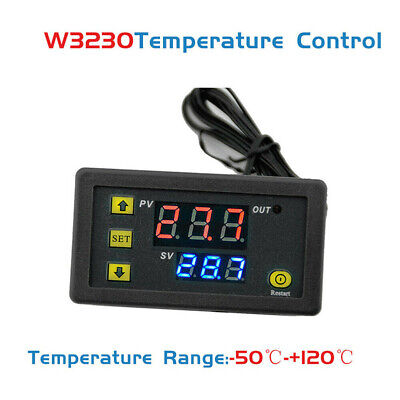 110-220v W3230 High Precision Digital Temperature Controller Thermostat -50120