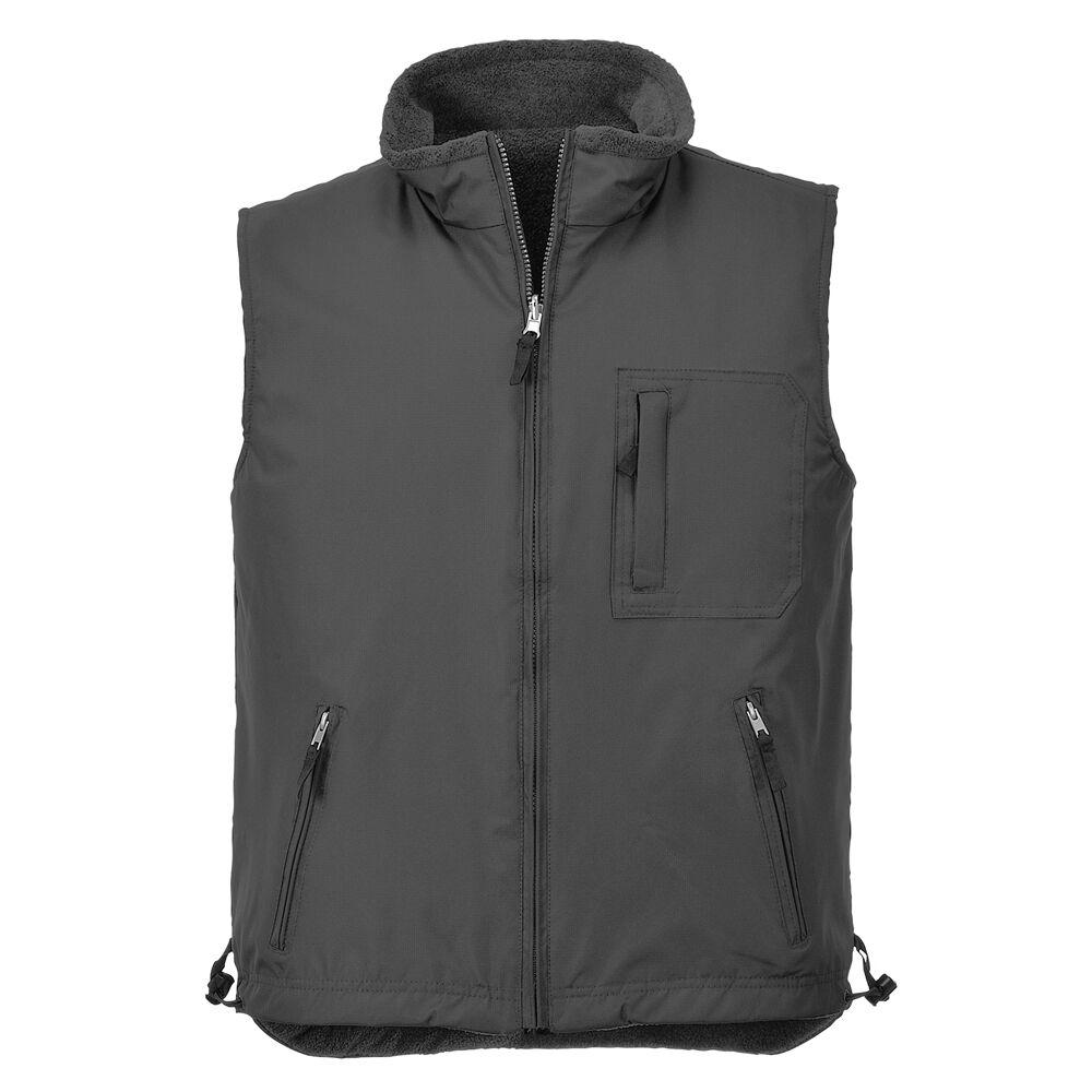 Veste sans manches gilet Portwest réversible gilet veste polaire Workwear S418 T