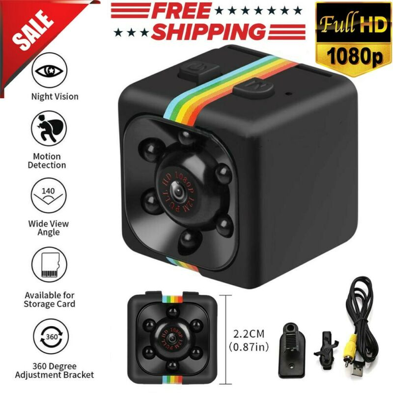 SQ11 Hidden DV DVR Camera Full HD 1080P Mini Car Dash Cam IR Night Vision US