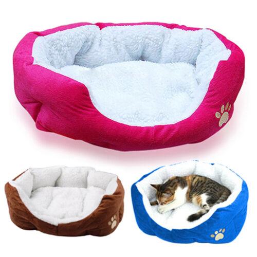 Hundebett Hundekissen Hundesofa Katzenbett Tierbett Hundekorb in 3 Farben✔ Farbwahl ✔ waschbar✔ für Hund & Katze Klein