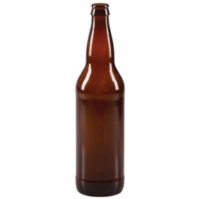 $23.00 - 22 oz Beer Bottles- AMBER- Case of 12