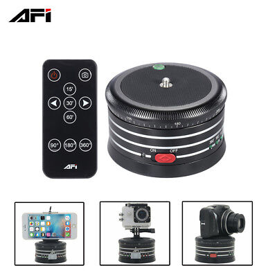 MRA01 360° Electric Panorama Ball Head w/ Remote Control for GoPro Camera Phone