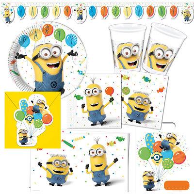 Minions Ballons Kindergeburtstag Auswahl Deko Party Dekoration Geburtstag - Minion Party Dekorationen