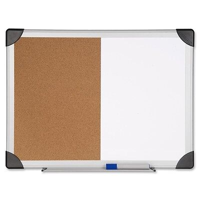 Lorell Dry Erasecork Board Combination - 24 Height X 36 Width - Natural...