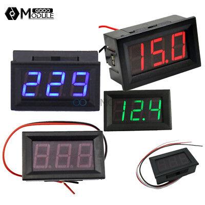 Redgreenblue Led 23 Wires 0.56 Ac 70-500v Digital Voltmeter Dc 5v-30v120v
