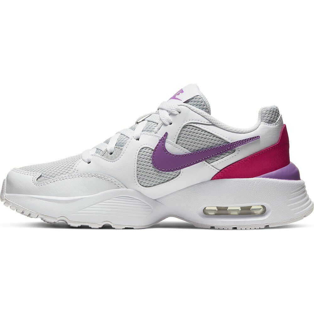"""Nike Air Max Fusion """"White/Watermelon/Grey"""" Unisex Trainers - Size 5 UK"""