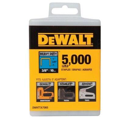 "DEWALT DWHTTA7065 3/8"" Heavy Duty Staples (Pack of 5,000)"