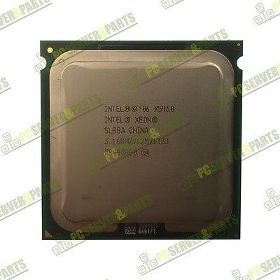 Intel Xeon X5460 3.16GHz SLBBA 12MB LGA771 Quad Core CPU Processor