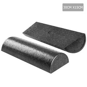 Yoga Gym Pilates EPP Stick Foam Roller Black 30 x 15cm Melbourne CBD Melbourne City Preview