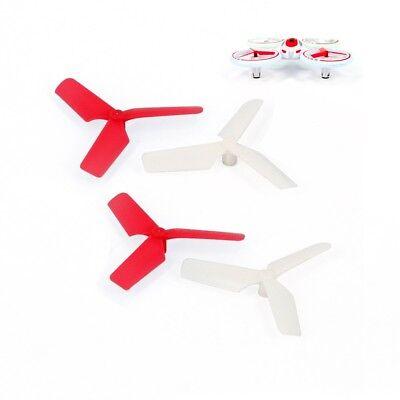 Quadrocopter XVI398 Drohne Funtom 5 Ersatzpropeller Set weiß-rot