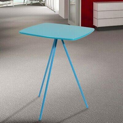 Picnic Mesa Auxiliar Mesa Estable Resistencia 8KG Salón Sofá Presentación Azul