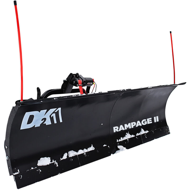 "DK2 Rampage II 82"" Snow Plow"