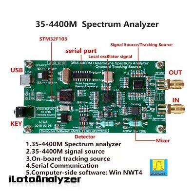 Usb Spectrum Analyzer Tracking Source Module Rf Frequency Domain Analysis Tool