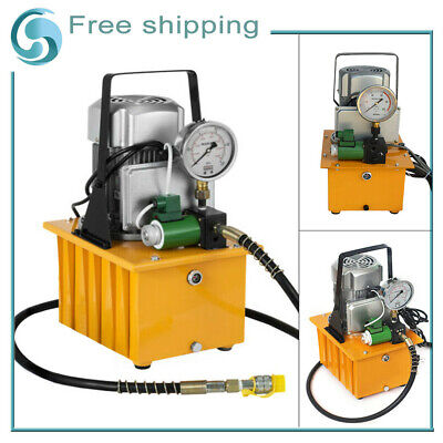 Hydraulic Electric Pump Oil Pressure Pedal With Oil Pressure Pump Solenoid Valve
