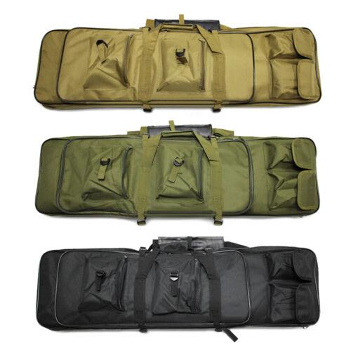 "39"" Tactical Gun Bag Carbine Rifle Range Padded Carry Case S"