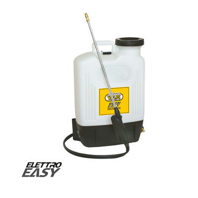 Bomba Eléctrico Herbicidas Tratamientos de Hombro VOLPI Elettroeasy 15L