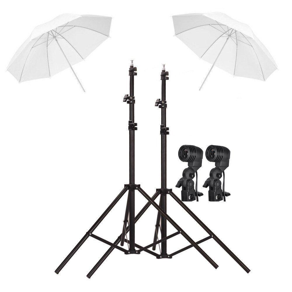 Dual Studio Lighting Kit for Video Shooting and Photography