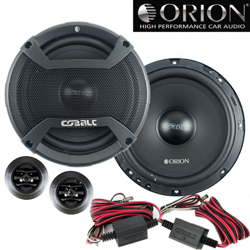 "Orion CO652C 6.5"" 2-Way 500 Watt 4ohm Cobalt Series Car Audio Component Speakers"
