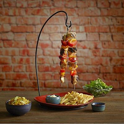 Espetada Hanging Kebab Stand | Vertical Kebab Holder, 45cm Tall Skewer Holder