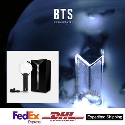 BTS Official Goods Light Stick  ARMY BOMB Ver 3 Free Express Shipping