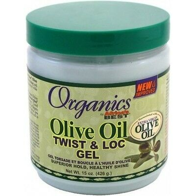 Originals by Africa's Best Olive Oil Twist and Loc Gel for Superior Hold