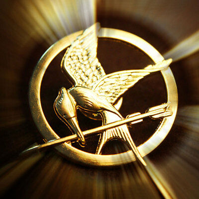The Hunger Games Catching Fire Mockingjay Pin Brooch Prop Replica Badge Cosplay - Hunger Games Mockingjay Pin