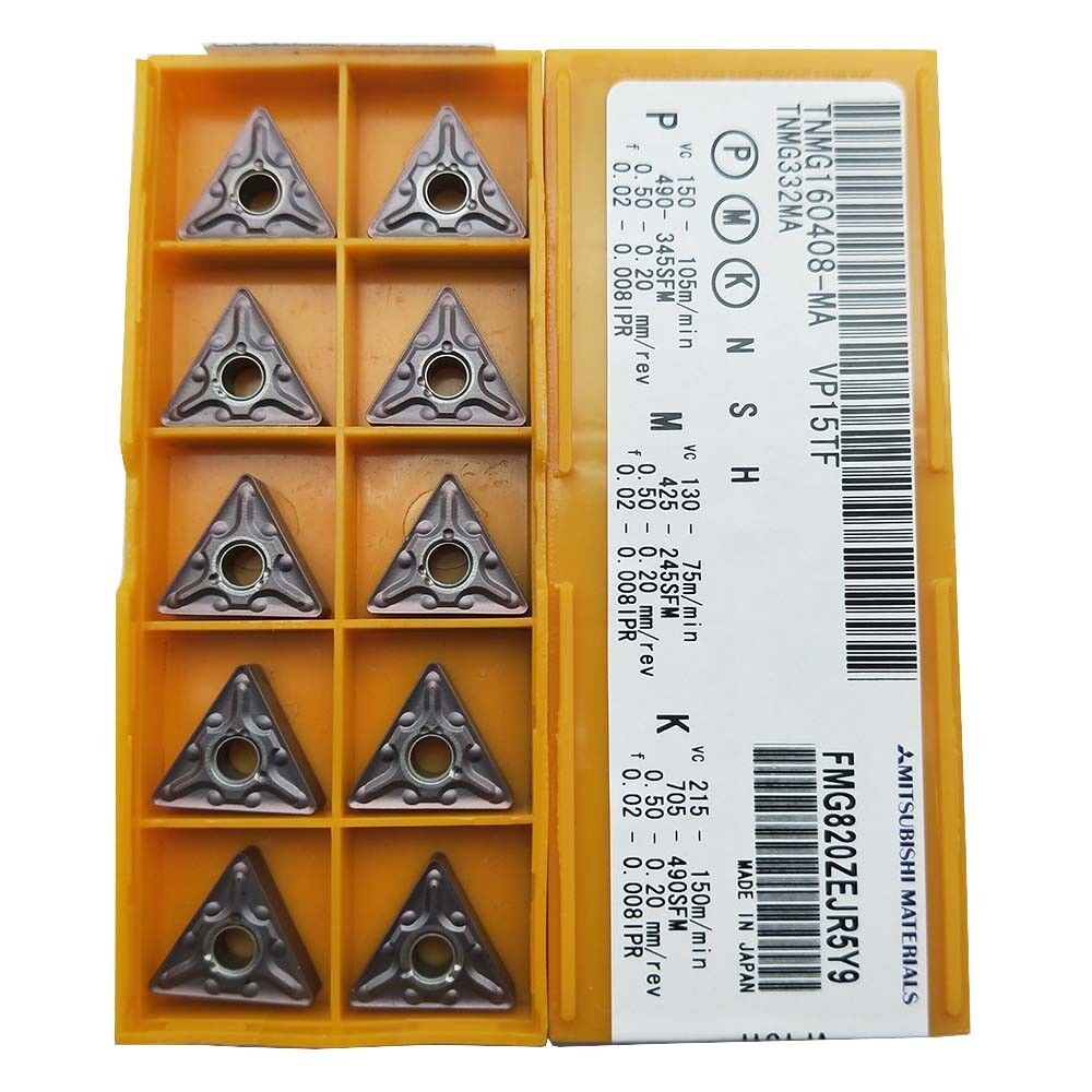 on sale 10p AOMT123608PEER-M VP15TF CNC Carbide Inserts for steel  cast iron