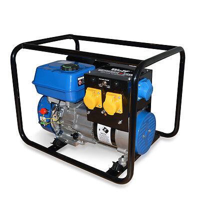 Wolf Pro 3200W 230v 7HP 4 Stroke Petrol Portable Generator