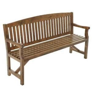Gardeon Wooden Garden Bench Chair Natural Outdoor Furniture Déco