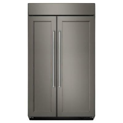 Kitchenaid KBSN602EPA Built-In Side by Side Refrigerator in Panel Ready