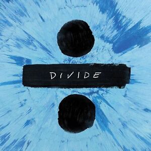 ED SHEERAN DIVIDE (÷) CD (Released On Friday March 3rd 2017)