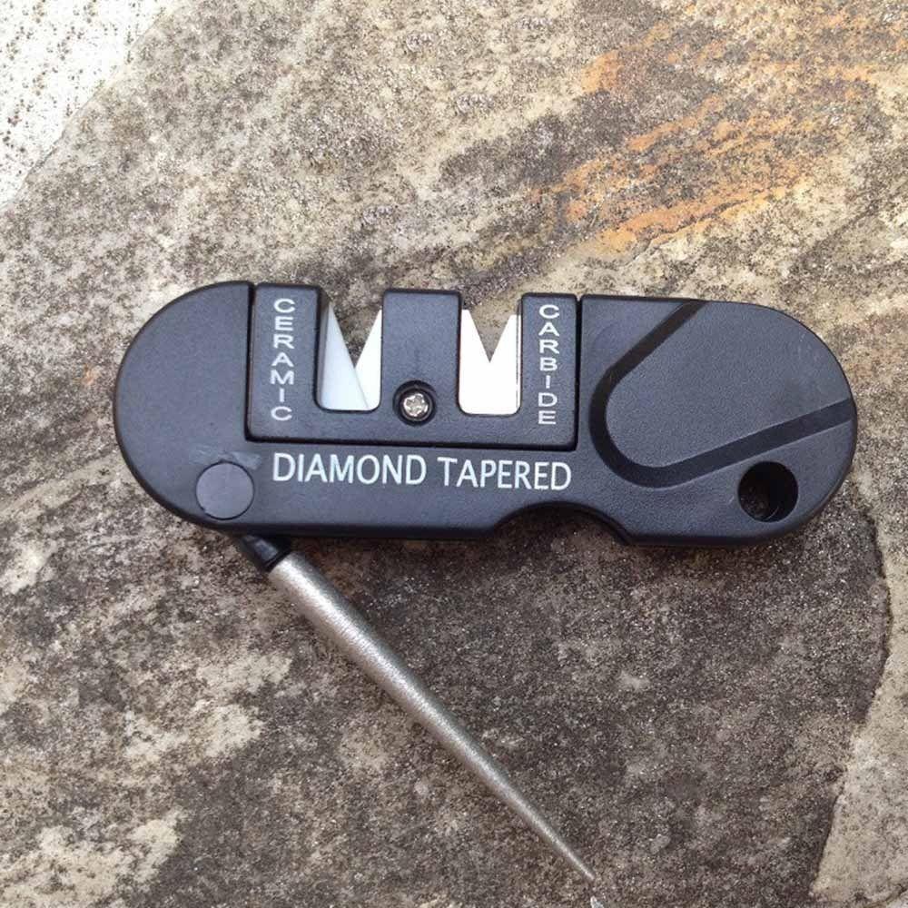 NEW Outdoor Pocket EDC Folding Ceramic Carbide Diamond