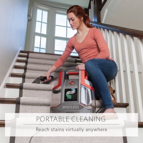 Spotless Portable Carpet Upholstery Spot Stain Cleaner Home Car Pet Auto