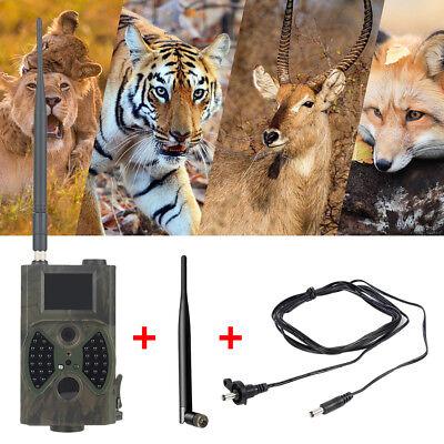 SunTek HD HC300M Trail Hunting Camera 940NM Scouting Infrared 12MP MMS / GPRS