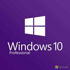 Windows 10 Pro Key 32/64 bit