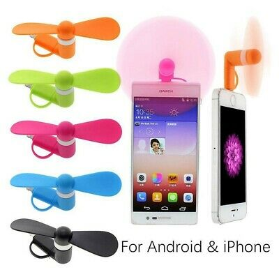 Portable Mini Micro USB Mobile Phone Fan Cooler Cooling For iPhone Android Phone