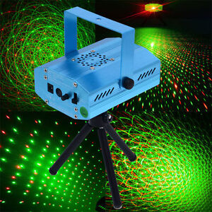 Mini Projector LED Laser Party Licht Projector DJ Disco Bar Stage Show Lighting