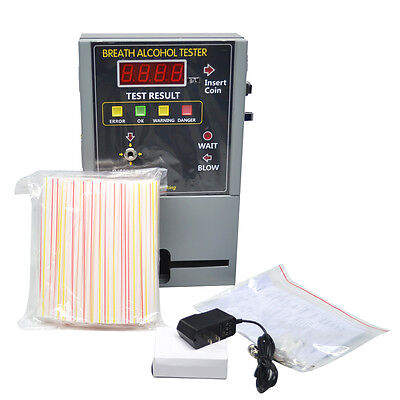 Professional Coin Operated Alcohol Tester/Breathalyzer Machine for Bar / Hotel