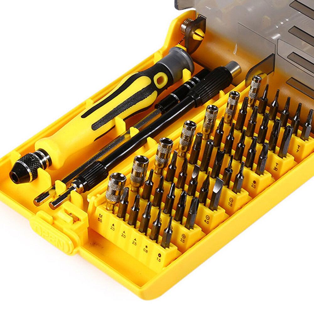45 in 1 Interchangeable Screwdriver Screwdriver Tool Set Duro Herramientas  sy