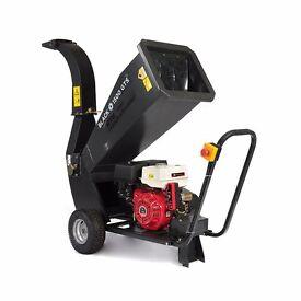 Black GTS1500E shredder timber shredders garden Mulcher wood chipper 15HP