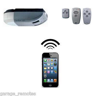 Iphone Garage Door Opener Remote Control Fits Marantec Comfort 220 250 252