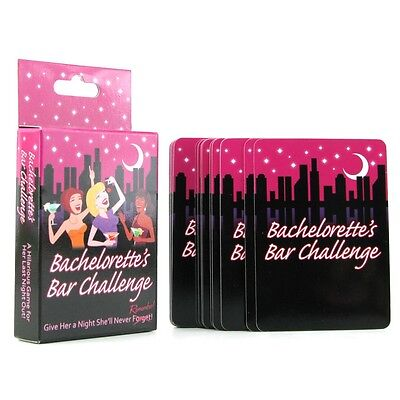 Bachelorette Party Bar Challenge Game - Fun Bridal Shower Favors](Fun Bridal Shower Games)