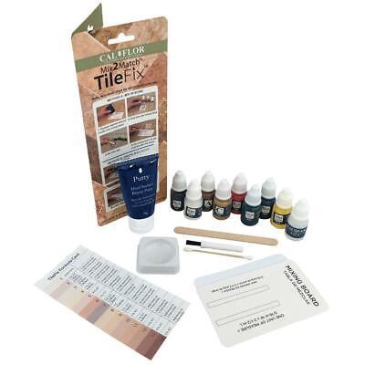 Fix Tile & Stone Repair Kit Fast-Dry Wax-Solvent Free Marbling DIY Home Floor