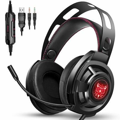 ONIKUMA Gaming Headset  for PS4,Xbox One, Noise Cancelling